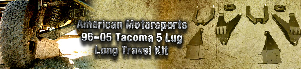 Tacoma Long Travel Kit